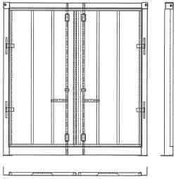 Container Door End Conversion Kit