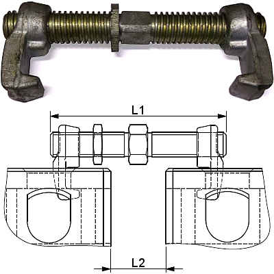 Container Bridge Clamps For Iso Corner Fittings 183 Conpar Group
